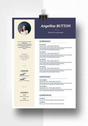 angelina modele cv