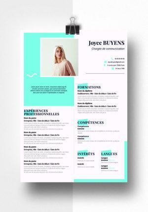Joyce modele cv