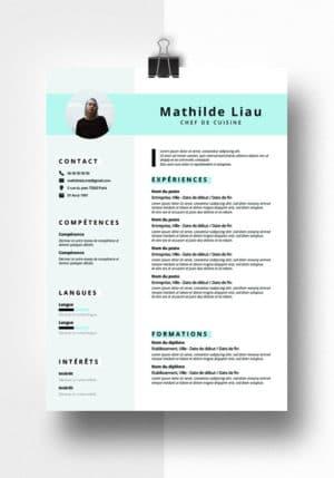 mathilde modele cv