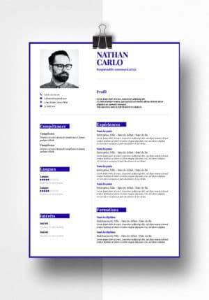 nathan modele cv