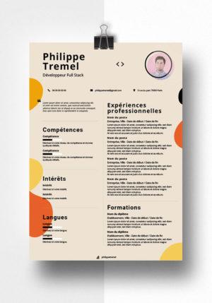 philippe modele cv