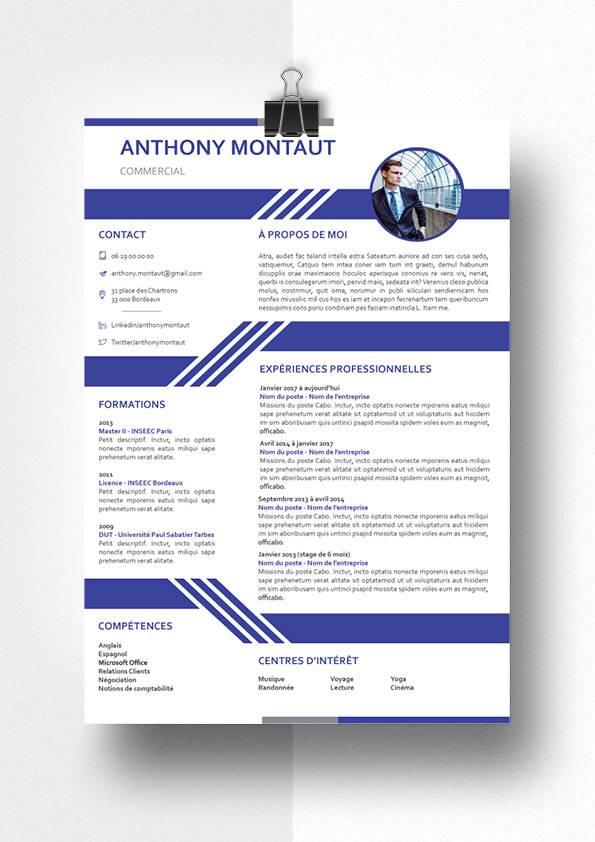 anthony modele cv