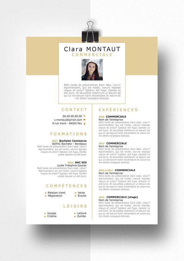 clara modele cv