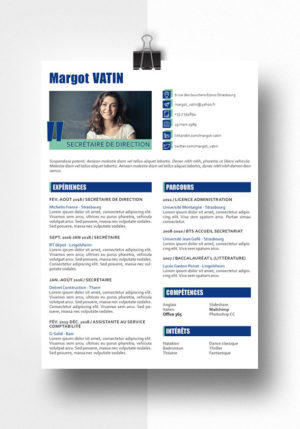 margot modele cv