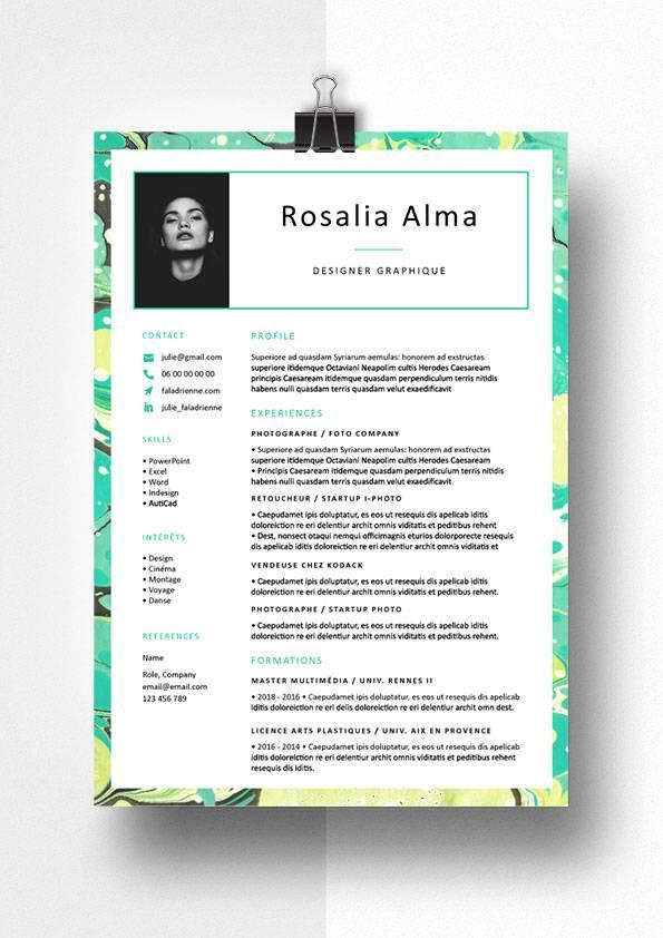 rosalia modele cv