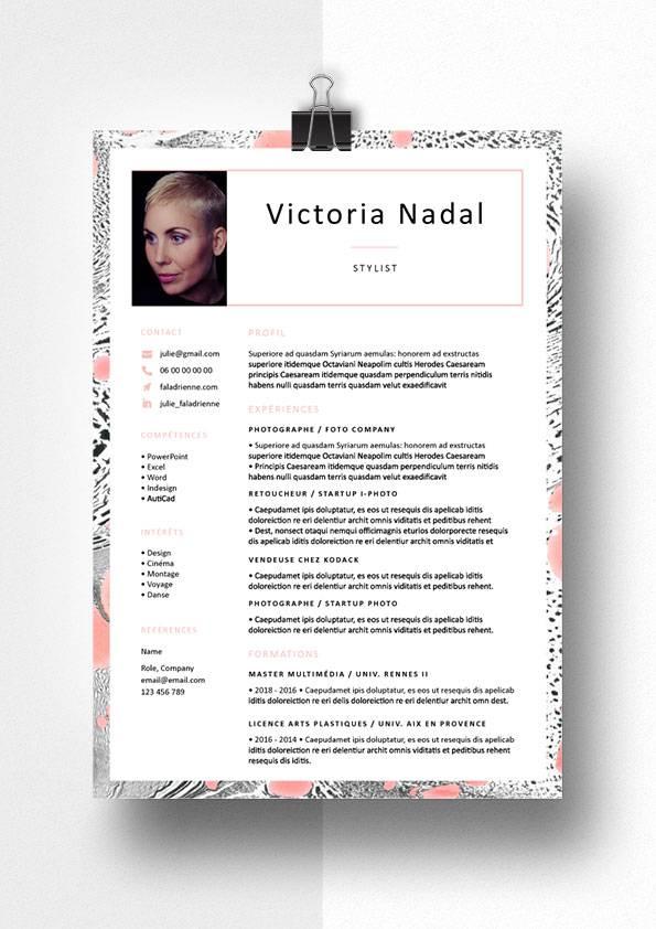 victoria modele cv