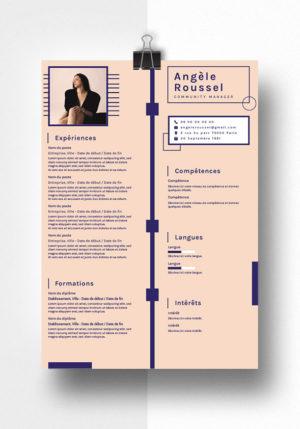 angele modele cv
